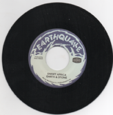Earth & Stone - Sweet Africa / version  (Earthquake / Gold Shop) US 7""